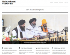 New Gurdwara Website