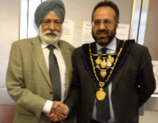 Lord Mayor & Officals Visit